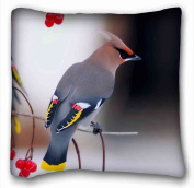 Custom Cotton & Polyester Soft Animal DIY Pillow Cover Size 41cm x 41cm suitable for Full-bed
