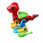 Yasalu Christmas Gift Disassembly Dinosaur Design Educational Toys for Children Kids