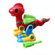 Yasalu Christmas Gift Disassembly Dinosaur Design Educational Toys for Children Kids