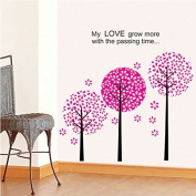 Romantic Cute tree Removable Mural Vinyl Decal Wall Sticker Art Room Home Decor