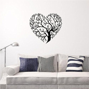 Wall Room Decor Art Vinyl Sticker Mural Decal Heart Shape Tree Large Removable