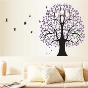 Flower Tree Birds Removable Vinyl Decal Wall Sticker Art Mural Living Room Decor