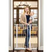 90cm Sturdy, All Metal Safety Gate Stands