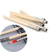 Lychee Pencil Extender Adjustable Wooden Lengthener Holder Painting Drawing Tool
