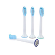 Teanfa Standard Replacement Toothbrush Heads for Philips Sonicare ProResults, 4 Pack