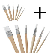 Ikea MALA Paintbrushes | Set of 12 | Great for Kids