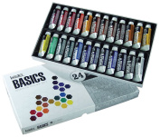 Liquitex BASICS Acrylic Paint Tube 24-Piece Set, New, .