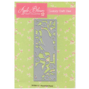 Apple Blossom Craft Die DIOB0112 Floral Bird Panel