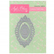 Apple Blossom Craft Die DIOB0100 Victorian Oval