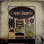 Cape Verde Africa Travel World Stickers Kit