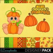 Our Little Pumpkin - Digital Scrapbook Kit on CD