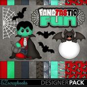 Fangtastik Fun - Digital Scrapbook Kit on CD