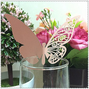 50 Pcs Laser Cut Butterfly Wedding Marriage Birthday Shower Party Decors