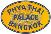 Phya Thai Palace Bangkok Reproduction Luggage Decal 7.6cm x 13cm