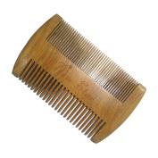 Beard Grooming,New Star Dual Action Beard Comb Anti-Static Beard Brush Pocket Comb