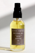 Men's Shaving Oil 60ml - Mild Shaving Oil With Organic Botanical Oils - Eucalyptus Cedar - No Preservatives