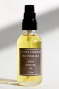 Men's Shaving Oil 60ml - Mild Shaving Oil With Organic Botanical Oils - Eucalyptus Cedar - No Preservatives