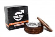 Urbane Men Sandalwood Shaving Soap Bowl