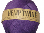 Hemp Twine Purple 20# 1mm 430Ft 130m