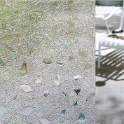 Bloss VinyL Cut Glass Print Static Cling Window Film