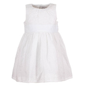 Baby Girls Celebration Girls Dress, white