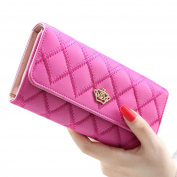 Yistu Women Purse,Lady Women Clutch Long Purse Leather Wallet Card Holder Handbag Bags