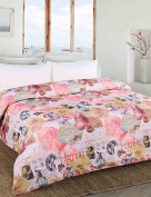 Dngy* 100% Printed Polyester Microfiber with 100% Polyester Quilt 120cm