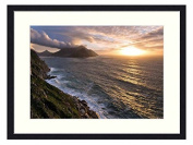 Cape Town - Solid Wood Picture Frame Art Print