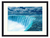 Niagara Waterfalls - Solid Wood Picture Frame Art Print