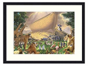 NOAHS ARK - Solid Wood Picture Frame Art Print