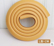 ZLL/ Kindergarten crash crash protection/baby/babies/table to protect thickened 2 m , yellow [type l]