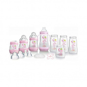 MAM Anti Colic Bottle Starter Set Small, Pink