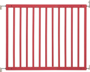 Badabulle B025218 Wooden Safety Gate Colour Pop Red