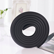 ROSENICE Corner Protectors Baby Proof Corners Edge Guard 2M Anti Collision Strip in Black