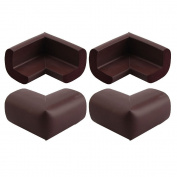 SurreyWhytel 4Pcs Baby Infant Kids Safe Table Corner Bumps Cushion Guards Protector