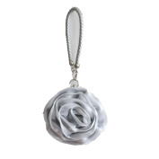 Veiai Lovely Rose Satin Flower Evening Bag Handbag Women /Bridal/Bridesmaid Clutch