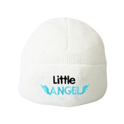 Little Angel White Baby Hat Embroidery Beanie Boys Girls Hats Toddler