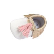 Fulltime(TM) Newborn Baby Girl Toddler Tassel Soft Sole Walking Shoes