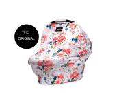 "Milk Snob Infant Car Seat Cover and Nursing Cover Multi-Use 360° Coverage Breathable Stretchy ""French Floral"" THE ORIGINAL MILK SNOB ..."