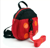 Famoby Anti-lost Baby Ladybug Backpack Toddler Kids School Bags