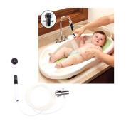 Deluxe Sink Bathtub Baby Shower Rinser with 0.9m flexible hose