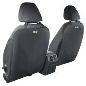 SPD Car Kick Mat, Kick Mats for Car Seat Back Protector, Car Seat Liner 2 Set