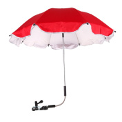Whitelotous Baby Stroller UV Protection Umbrella 360 Degrees Adjustable Direction Stroller Accessories
