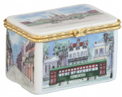 New Orleans Ceramic Keepsake/Trinket Box