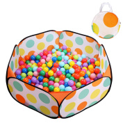EocuSun Kids Ball Pit Playpen Ball Tent Toddler Ball Pit, 120cm with Zippered Storage Bag for Toddlers