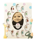 Fashioncraft Baby's First Year (Newborn-1 yr) Collage Picture Frame Keepsake