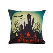 Ikevan® Halloween Sofa Bed Home Decor Pillow Case Cushion Cover(46cm x 46cm )