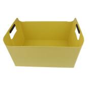 Pekky Storage Baskets/Bins with Handles,Multi-purpose (yellow) O