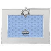 STAR OF DAVID Silverplate frame by Malden Design® - 4x6
