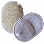 Loofah Round Handle Glove x 6 Pack